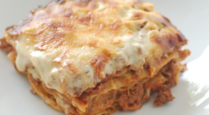 """Lasagne - stonesoup"" by jules / stonesoup - mum's lasagne. Licensed under CC BY 2.0 via Commons - https://commons.wikimedia.org/wiki/File:Lasagne_-_stonesoup.jpg#/media/File:Lasagne_-_stonesoup.jpg"