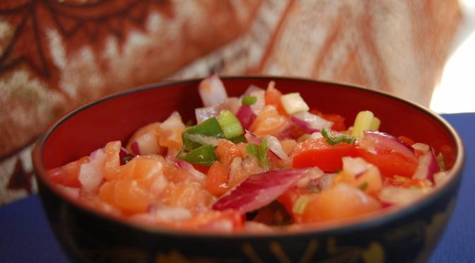 Tartare de saumon façon Yohann